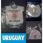 Bebe X3 Body + Babero +gorro Seleccion Uruguay