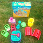 Kit Juego Playa Moldes Castillo De Arena Sand Kingdom +3