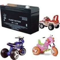 Bateria Para Moto Eletrica 6v 12ah