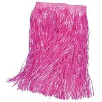 Disfraz Hawaiano - Falda De Pasto Rosa Para Niños Hula Dress