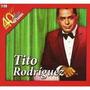 2 Cds - Tito Rodriguez - 40 Años 40 Exitos