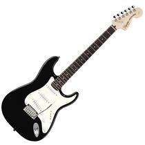 Guitarra Elec Squier Stratocaster Standard Mn Black Metallic