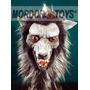 Hombre Lobo Máscara De Látex Wolfman Halloween Mordortoys