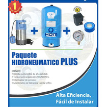 Hidroneumatico Sumergible De 1.3 Hp Con Tanque De 20 Gal Hgm