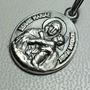Medalla De La Virgen De Schoenstatt De Plata 925 16 Mm Diam.