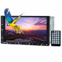 Radio Automotivo Som Veicular Mp5 Bluetooth Tela 7 Usb V9