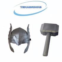 Kit Máscara + Martelo Thor