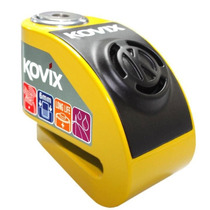 Trava Disco Com Alarme Freio Moto Kovix Antifurto Cadeado