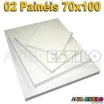 Tela Painel P/ Pintura 02 Unidades 70x100 Direto Da Fabrica