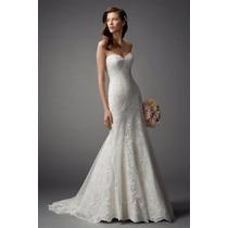 Vestido De Noiva Sereia Tomara Que Caia Em Renda Francesa