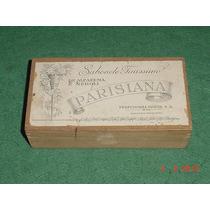 * Caixa De Sabonete Antiga - Parisiana - Vazia *