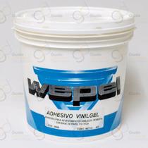 Wepel Adhesivo Vinil Gel Revestimiento Pared Tassoglas 4kg