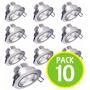 Pack 10 Foco Led Ceiling Light 3w Embutido 16569 / Fernapet
