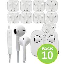 Pack 10 Audifonos Manos Libres Iphone 6/5g/5s/4 / Fernapet