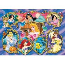 Rompecabezas Infantiles Princesas De Disney 125 Pzas Xxl