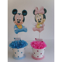 Centros De Mesa De Mickey Y Minnie Bebe De Disney