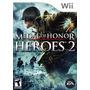 Mellada De Honor Heroes 2 Wii Nuevo Sellado