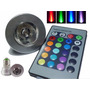 E27 Lampara Rgb 3w Led Control Remoto 16 Colores 220w