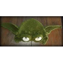 Gorro Maestro Yoda. Tejido A Crochet! Star Wars! Artesanal!!
