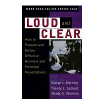 Libro Loud And Clear: How To Prepare And, George L Morrisey