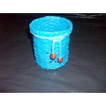 Portalápices De Papel Reciclado