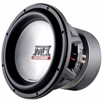 Subwoofer Mtx T9515 1000w Rms Dual 4 Ohm Thunder9500 Series