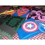 Souvenir Capas Infantiles Super Heroes + Mascara!