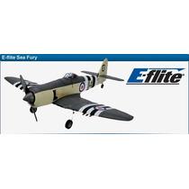 Avión Eléctrico Radiocontrol, Hawker Sea Fury, Arf, E-flite