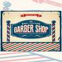 Placas Decorativas Retro Vintage Impressão U.v Barber Shop