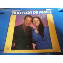Lp Duo Flor De Maio - Volta Hoje, Disco Vinil Gospel, Raro