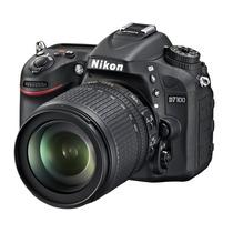 Cámara Nikon D7100 24.1 Mp Dx Con 18-140mm F/3.5-5.6 Af-s Vr