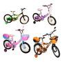 Bicicletas Plt Rin 16 Y Rin 20 Para Niñas Y Niños Colores