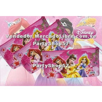 Cartuchera Cotillon Dora Barbie Princesas De Disney Fresita