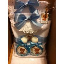 Detallitos Gel Antibacterial Crema Toalla Baby Shower Niño