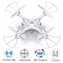 Drone Syma X5sw-v3 Fpv Explorers 2,4 Ghz Con Cámara Hd Wifi