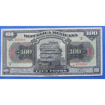 Billete $100 Pesos Republica Mexicana 1915