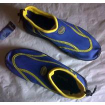 Zapatos Para El Agua, Especial Para Piscina Y Act. Acuaticas