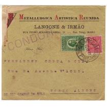 17328 Envelope Circulado Via Condor De Sp P/ Porto Alegre 31