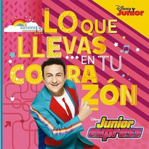 Topa Junior Express Lo Que Llevas En Tu Corazon Cd Original