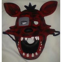 Mascaras Five Nights At Freddys Goma Latex 3d Foxy Y Mas