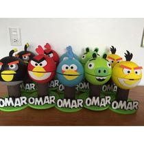 Centros De Mesa Angry Birds