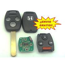 Llave Honda Acord Civic Accord Con Chip ¡envio Gratis!