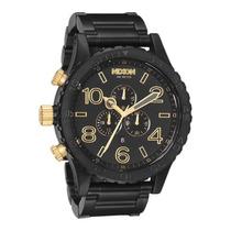 Relógio Nixon Chrono Men´s Black Frete Grátis 12x Sem Juros