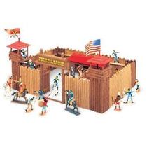 Forte Apache - Batalha Júnior Maleta # Brinquedo Anos 80 #