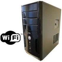 Cpu Hp Intel Dual Core 2 Giga Wi Fi Leitor Sd Novo Garantia