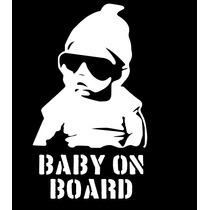 Adesivo Bebê A Bordo Criança Infantil Carro Berço Baby-02