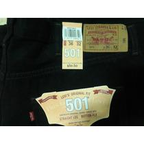 Jeans Levis Negro Original 501 Y 505