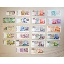 Lote Billetes Dinero Moneda Nacional Extranjera Numismatica