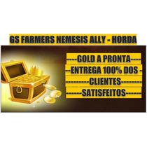 Gold Wow Nemesis 1k Alliança Horda Ganhe Brindes Na Compra!