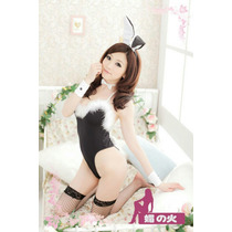 Disfraz Coneja Sexy Erotico Talla Chica Solamente Máximo 7